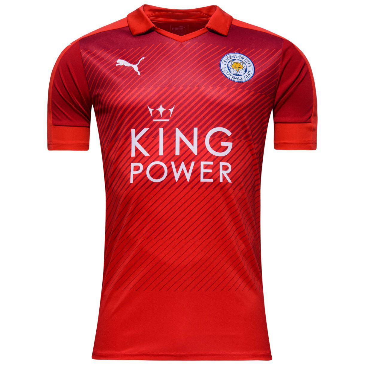 2016-2017 Leicester City Puma Away Football Shirt (Kids)