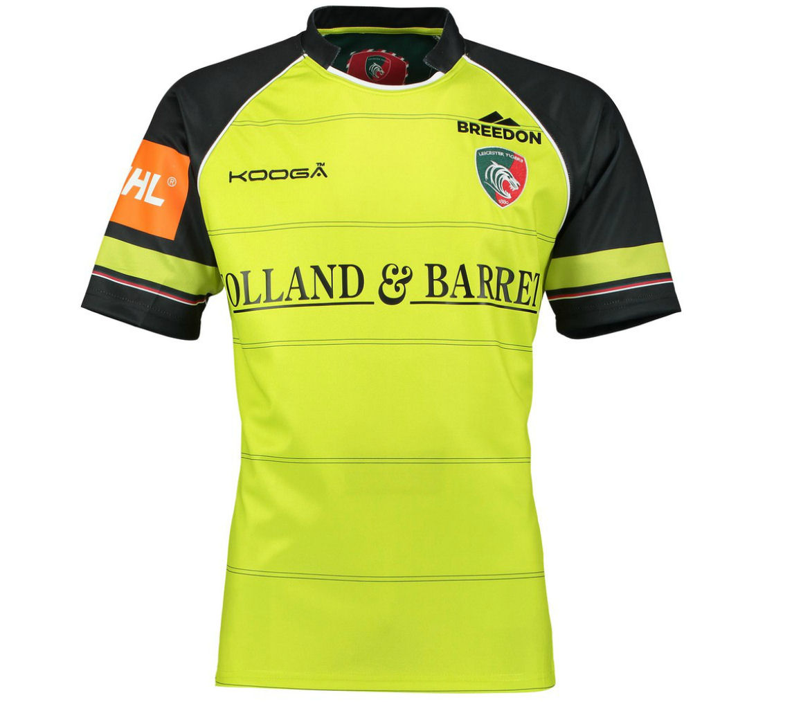 2016-2017 Leicester Tigers Alternate Rugby Shirt