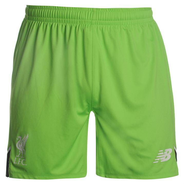 2016-2017 Liverpool Home Goalkeeper Shorts (Locust Green)