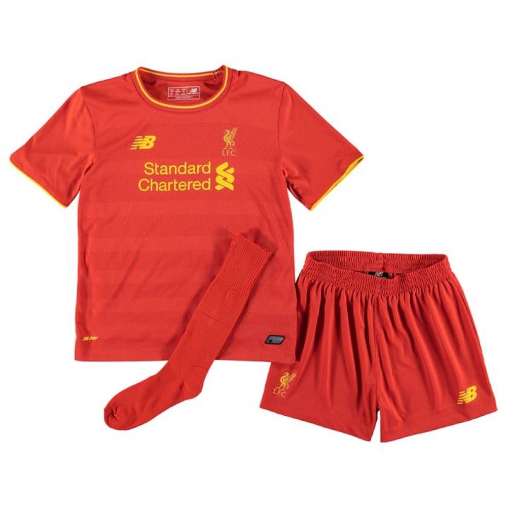 2016-2017 Liverpool Home Little Boys Mini Kit