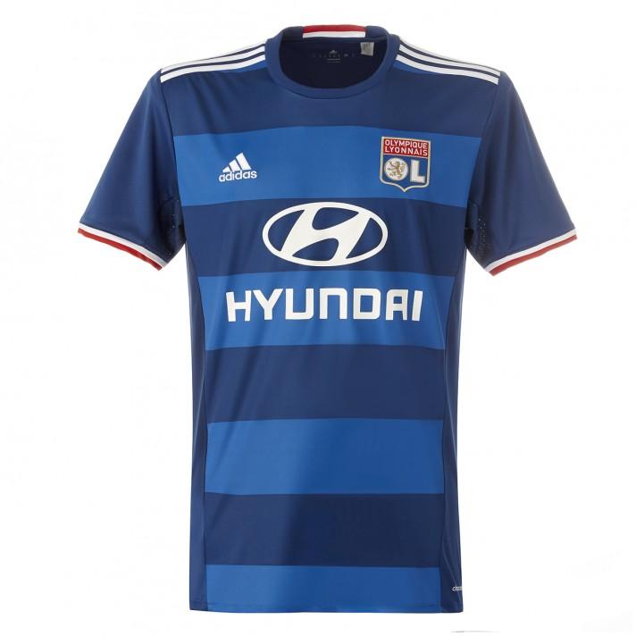 2016-2017 Olympique Lyon Adidas Away Football Shirt