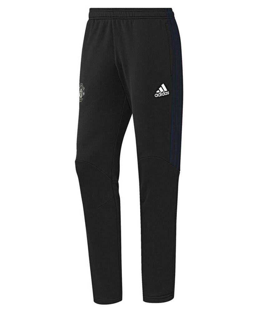 2016-2017 Man Utd Adidas Presentation Pants (Black)