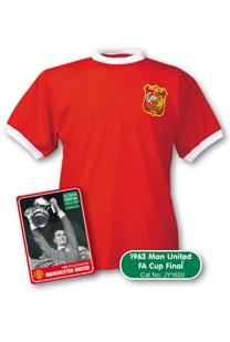 Man Utd 1963 FA Cup Final Shirt