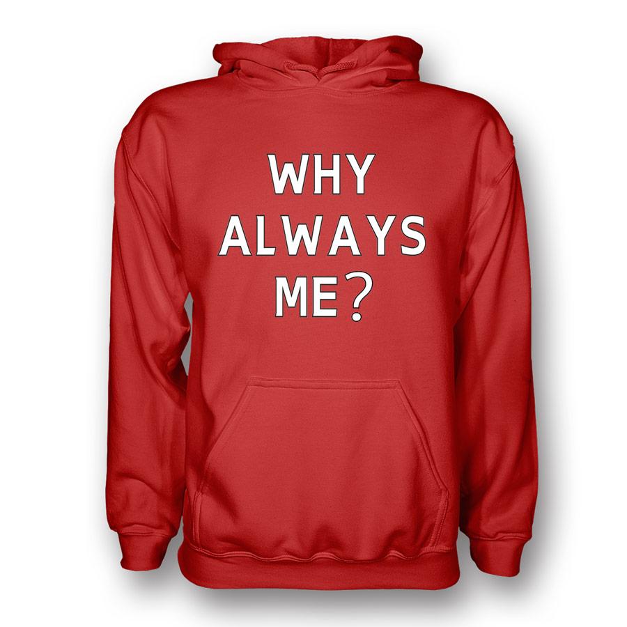 Mario Balotelli Why Always Me Hoody (red) - Kids