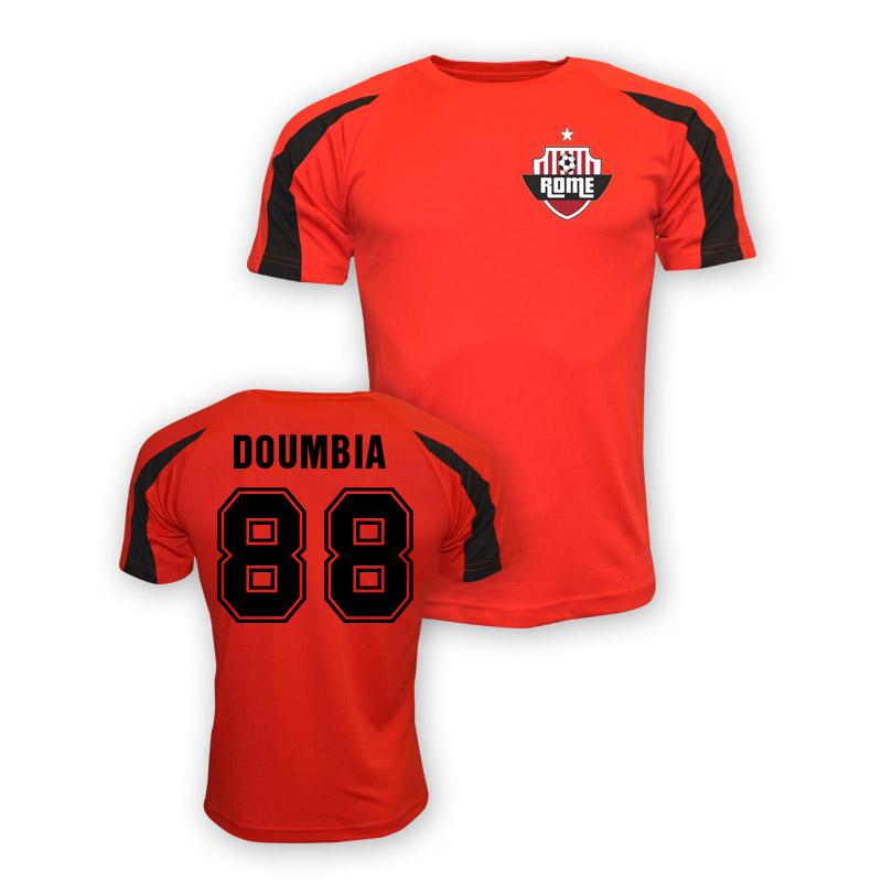 Seydou Doumbia Roma Sports Training Jersey (red) - Kids