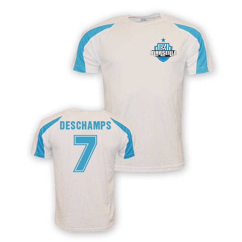 Didier Deschamps Marseille Sports Training Jersey (white) - Kids
