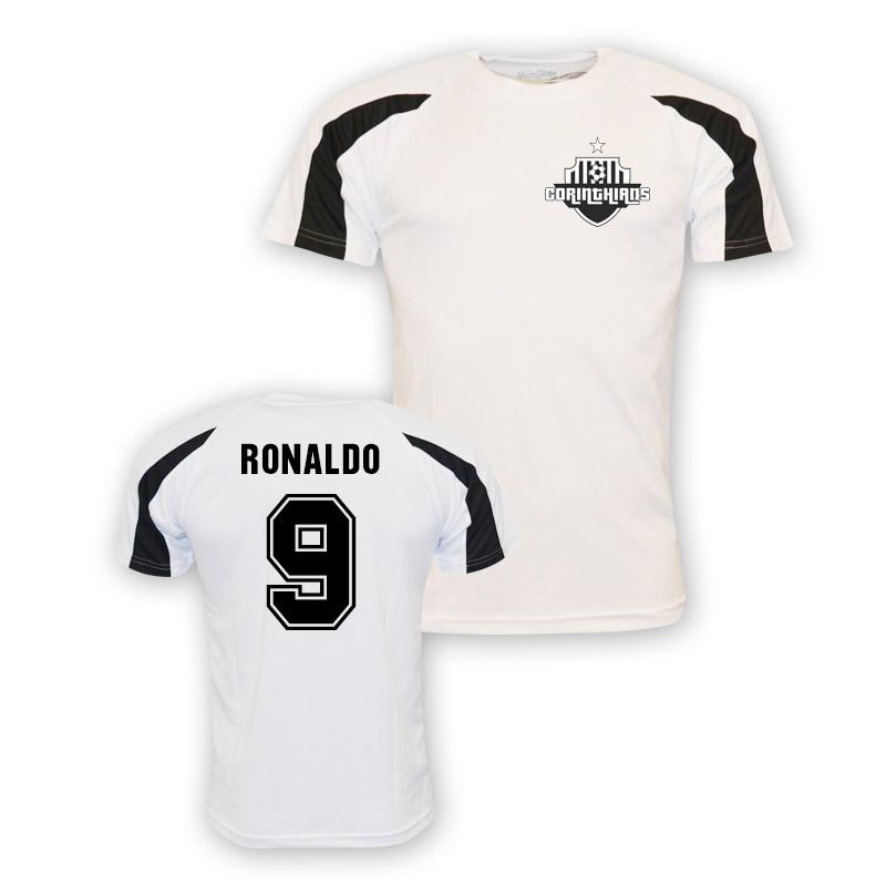 Ronaldo Corinthians Sports Training Jersey (white) - Kids