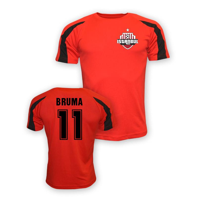 Bruma Galatasaray Sports Training Jersey (red)