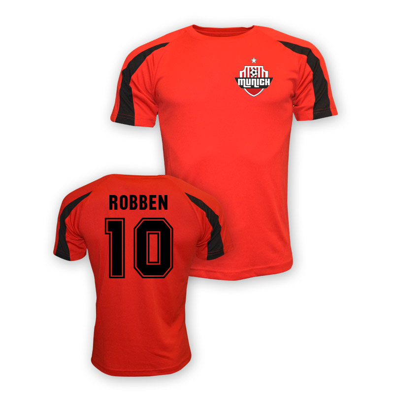 Arjen Robben Bayern Munich Sports Training Jersey (red) - Kids