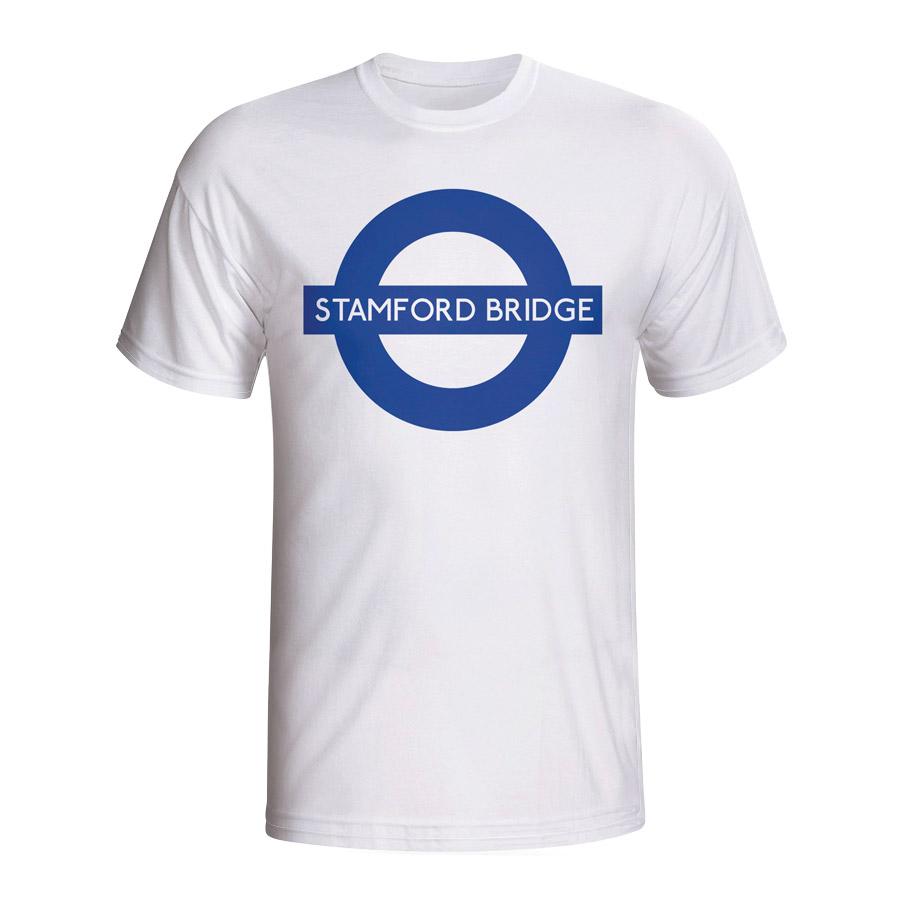 Stamford Bridge London Tube T-shirt (white)