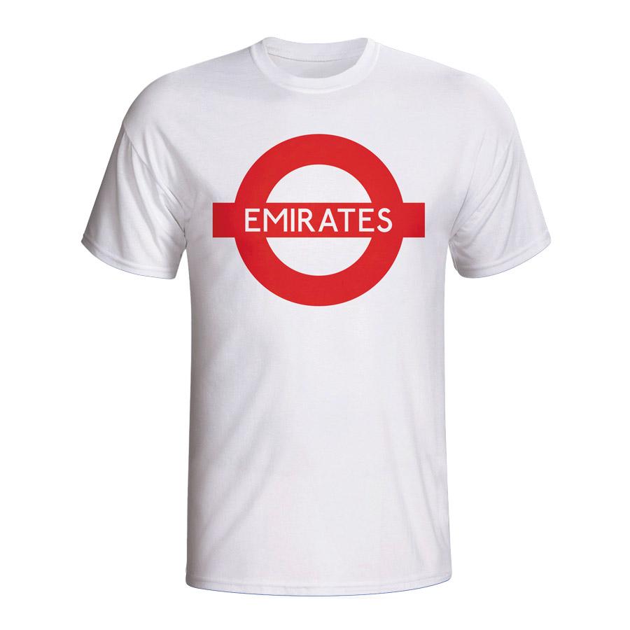 Emirates London Tube T-shirt (white)