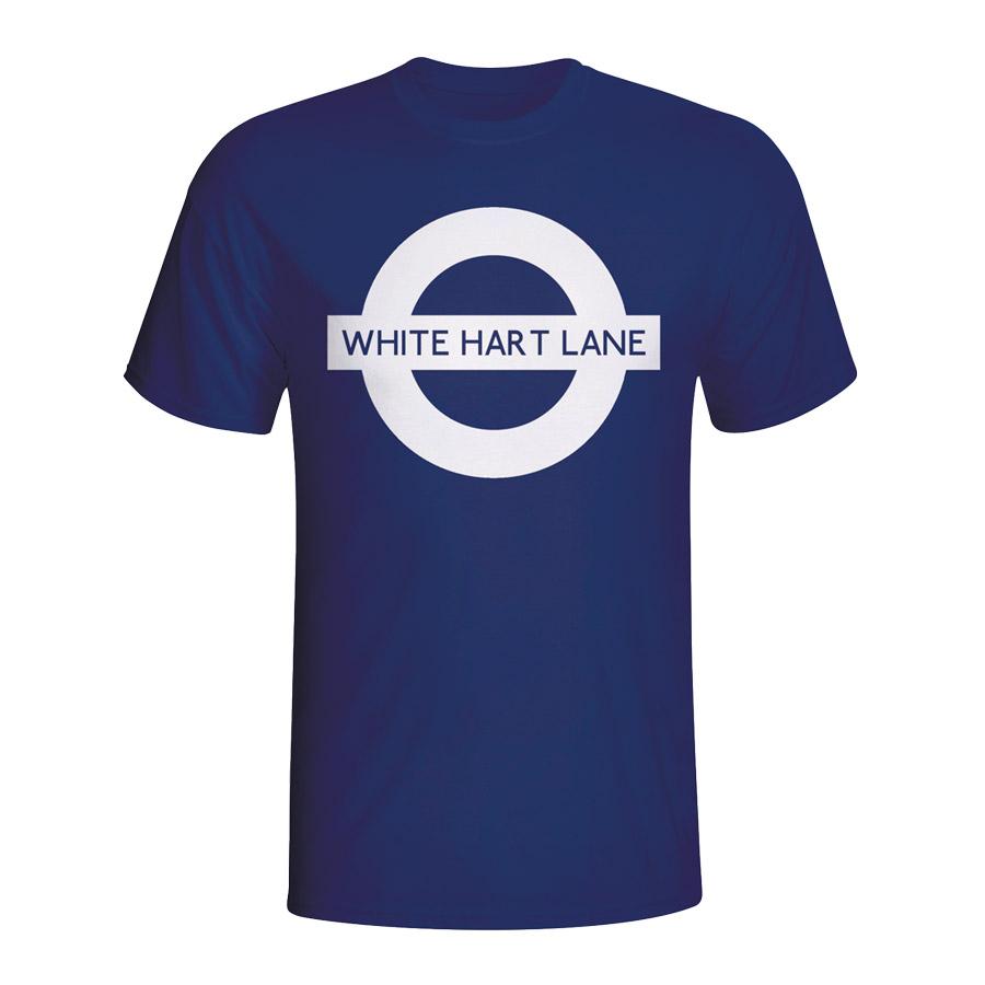 White Hart Lane London Tube T-shirt (navy) - Kids