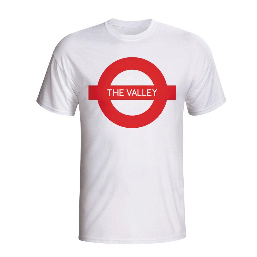 The Valley London Tube T-shirt (white)