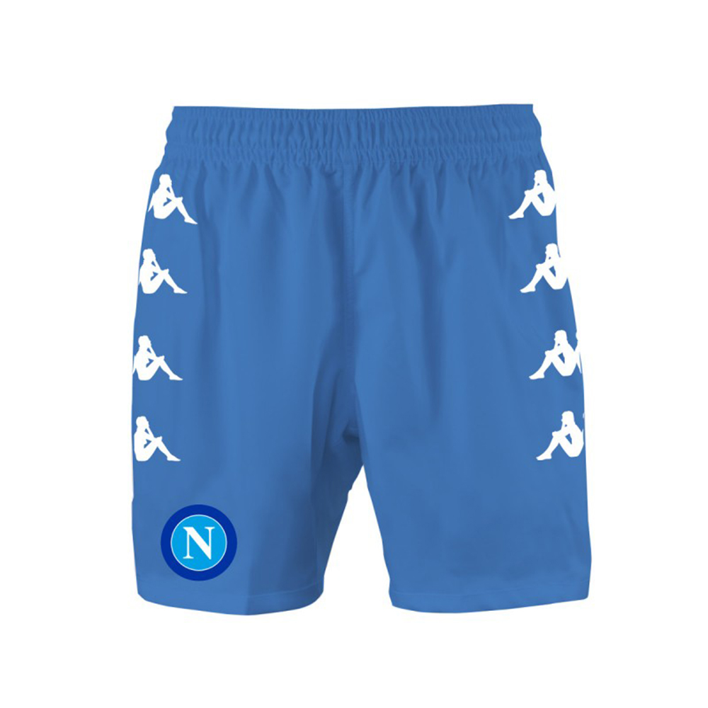 2016-2017 Napoli Kappa Home Shorts (Sky Blue)