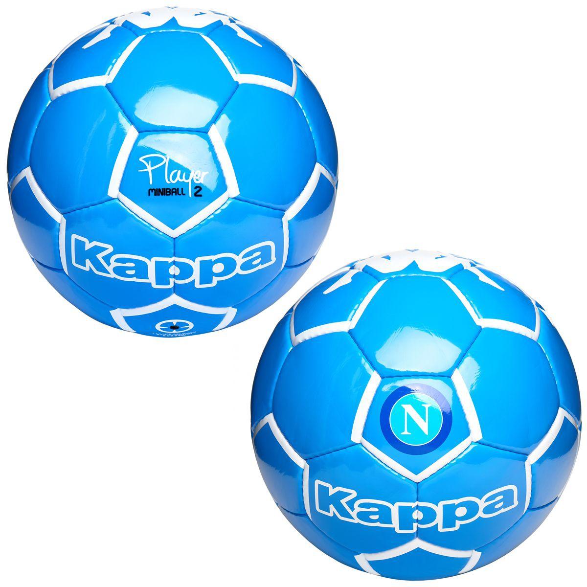 2016-2017 Napoli Kappa Mini Football (Blue)