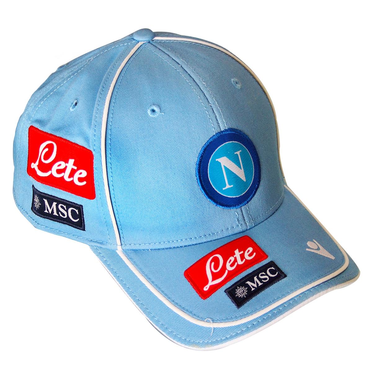 2013-14 Napoli Macron Baseball Cap (Blue)
