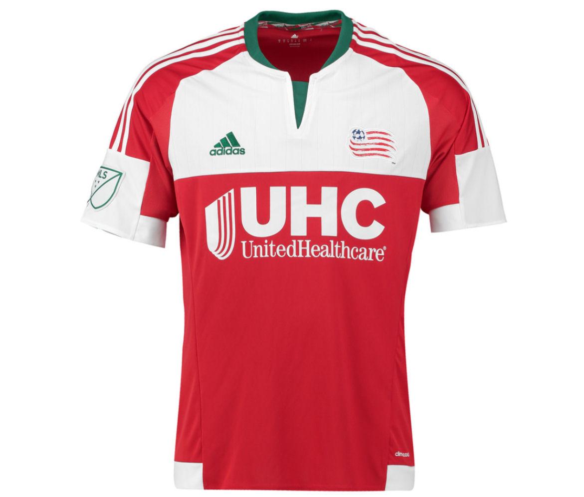 2016 New England Revolution Adidas Away Football Shirt