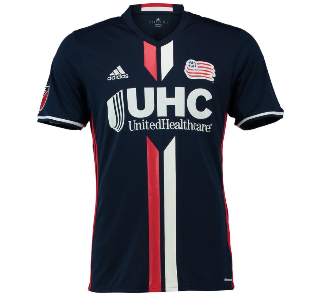 2016 New England Revolution Adidas Home Football Shirt