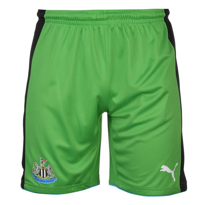 2016-2017 Newcastle Home Goalkeeper Shorts (Green) - Kids