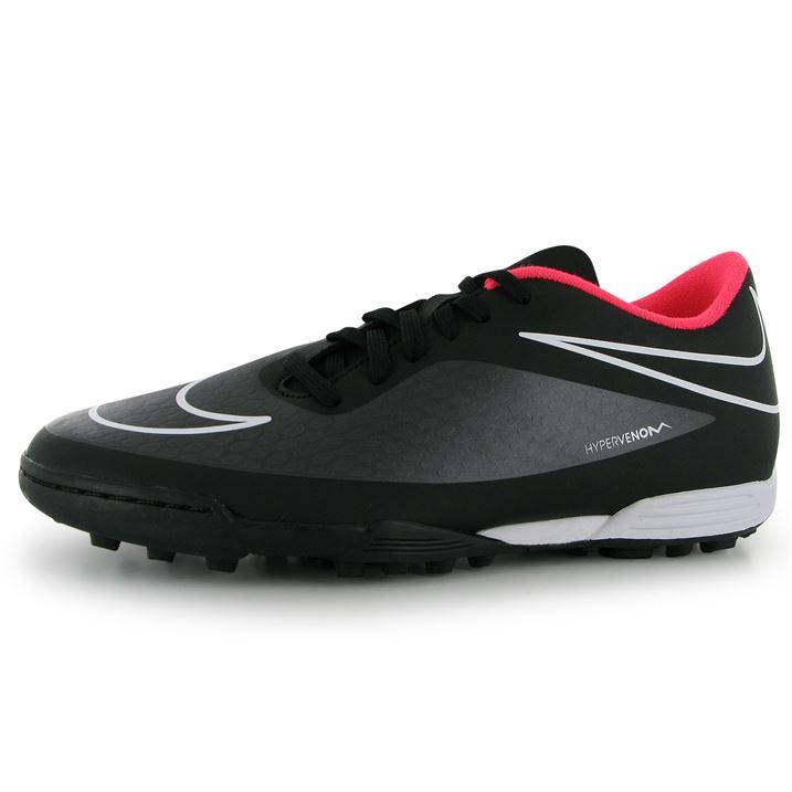 Nike Hypervenom Phade Mens Astro Turf Trainers (Black-Hyper)