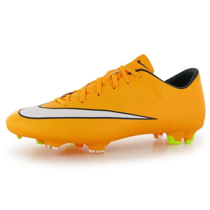 Nike Mercurial Victory FG Mens Football Boots (Orange-White)