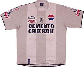 Pachuca away 2004
