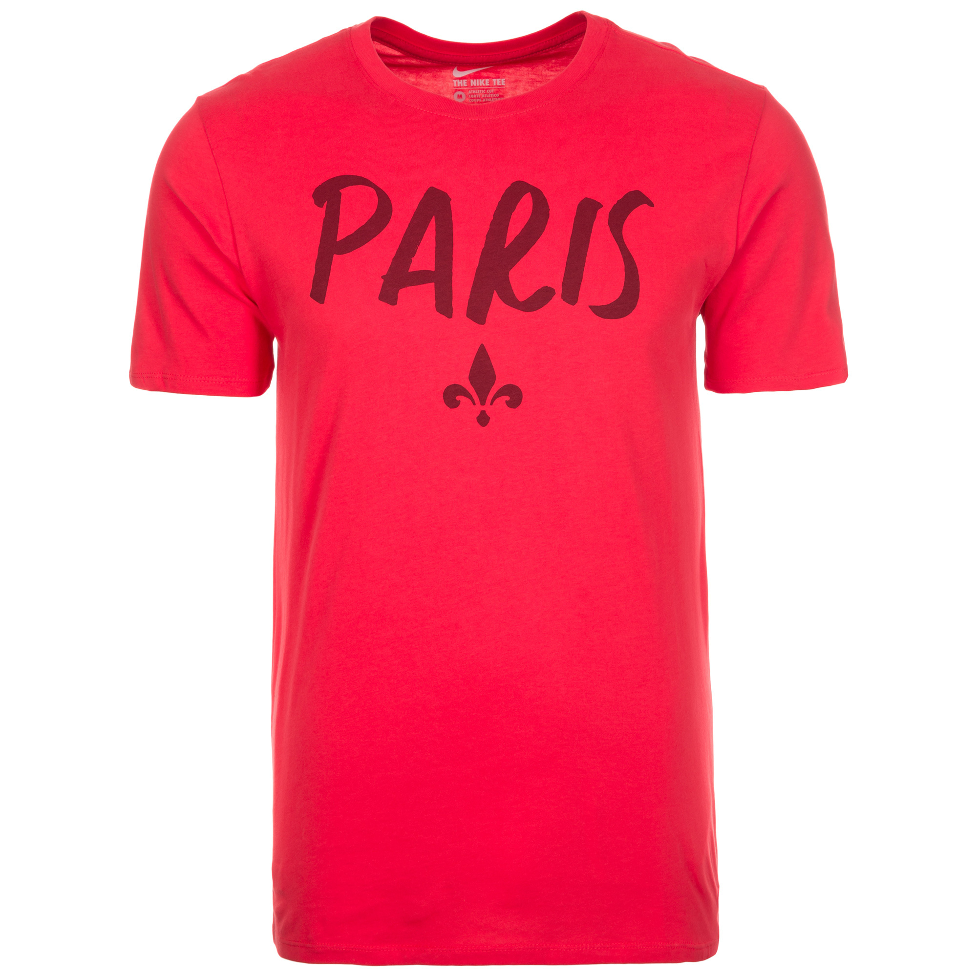 2016-2017 PSG Nike Squad Tee (Red)
