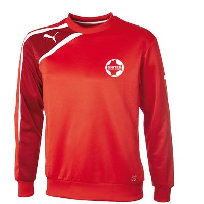 United Football Academy Spirit Sweat Top (Red) - Kids