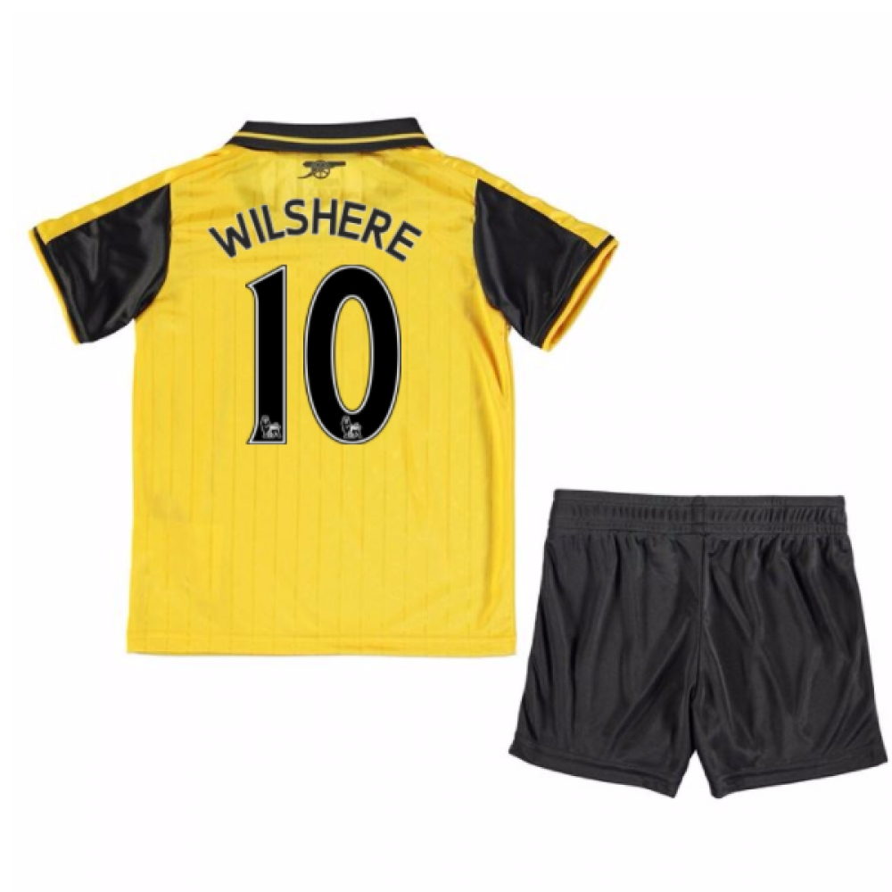 2016-17 Arsenal Away Mini Kit (Wilshere 10)