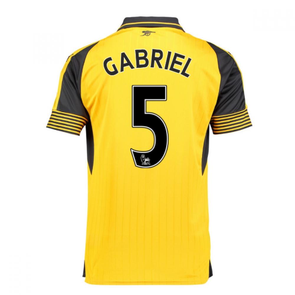 2016-17 Arsenal Away Shirt (Gabriel 5)