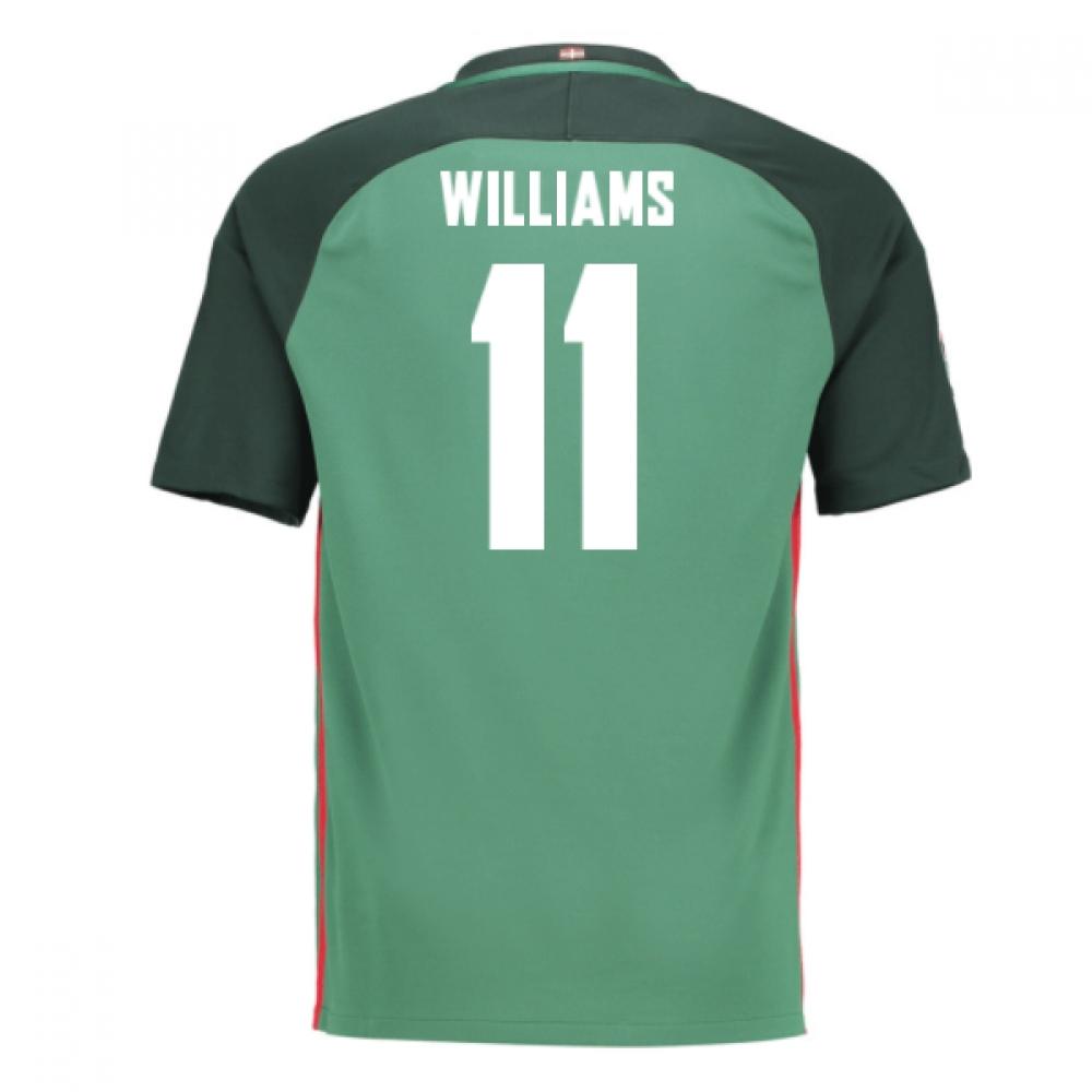 2016-17 Athletic Bilbao Away Shirt (Williams 11)