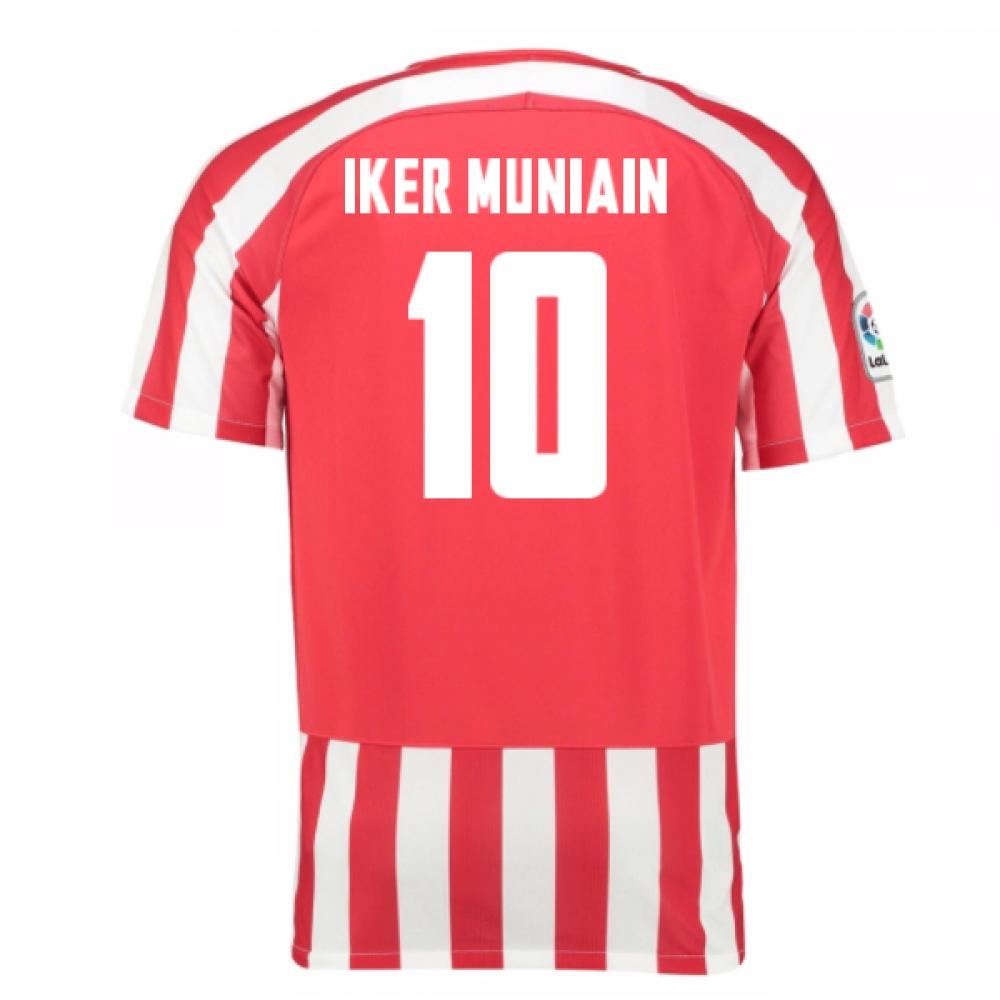2016-17 Athletic Bilbao Home Shirt (Iker Muniain 10)