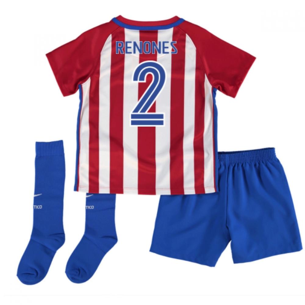 2016-17 Atletico Madrid Mini Kit (Renones 2)