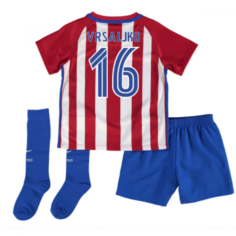 2016-17 Atletico Madrid Mini Kit (Vrsaljko 16)