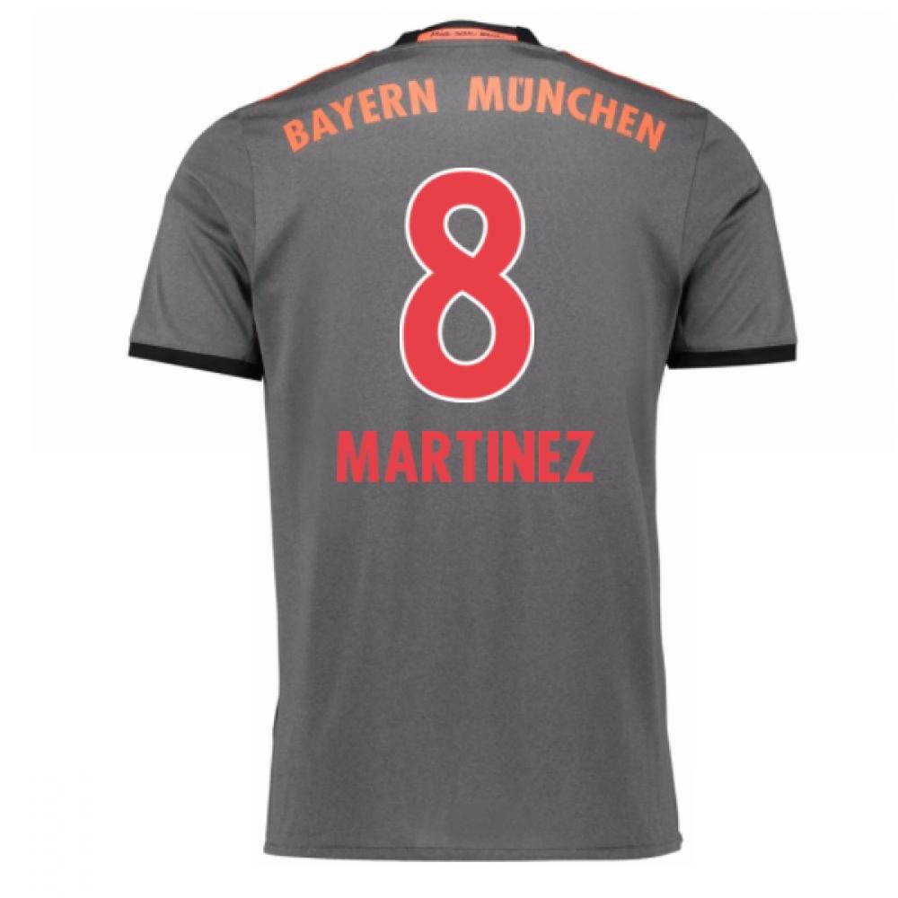 2016-17 Bayern Munich Away Shirt (Martinez 8)