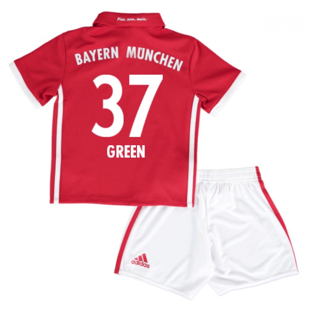 2016-17 Bayern Munich Home Mini Kit (Green 37)