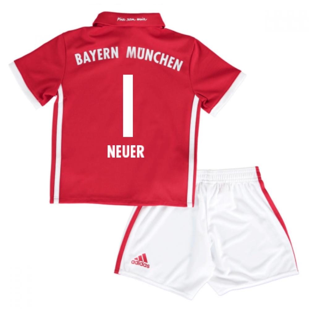 2016-17 Bayern Munich Home Mini Kit (Neuer 1)