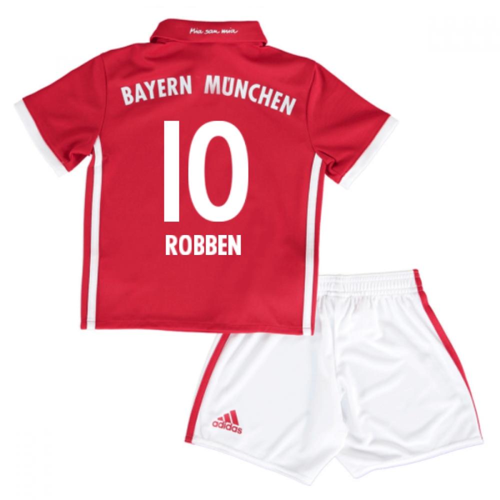 2016-17 Bayern Munich Home Mini Kit (Robben 10)