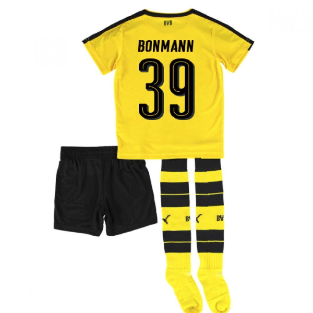 2016-17 Borrussia Dortmund Home Mini Kit (Bonmann 39)