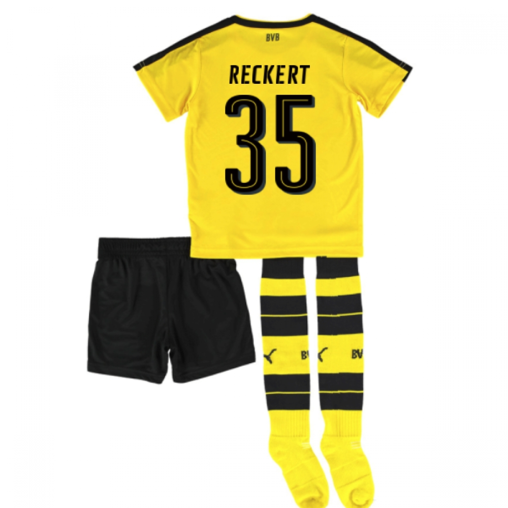 2016-17 Borrussia Dortmund Home Mini Kit (Reckert 35)