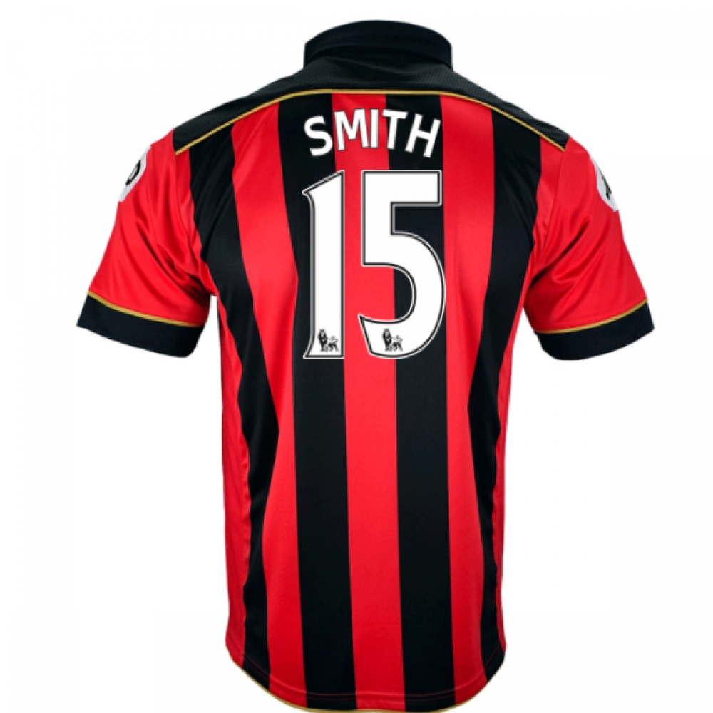 2016-17 Bournemouth Home Shirt (Smith 15)