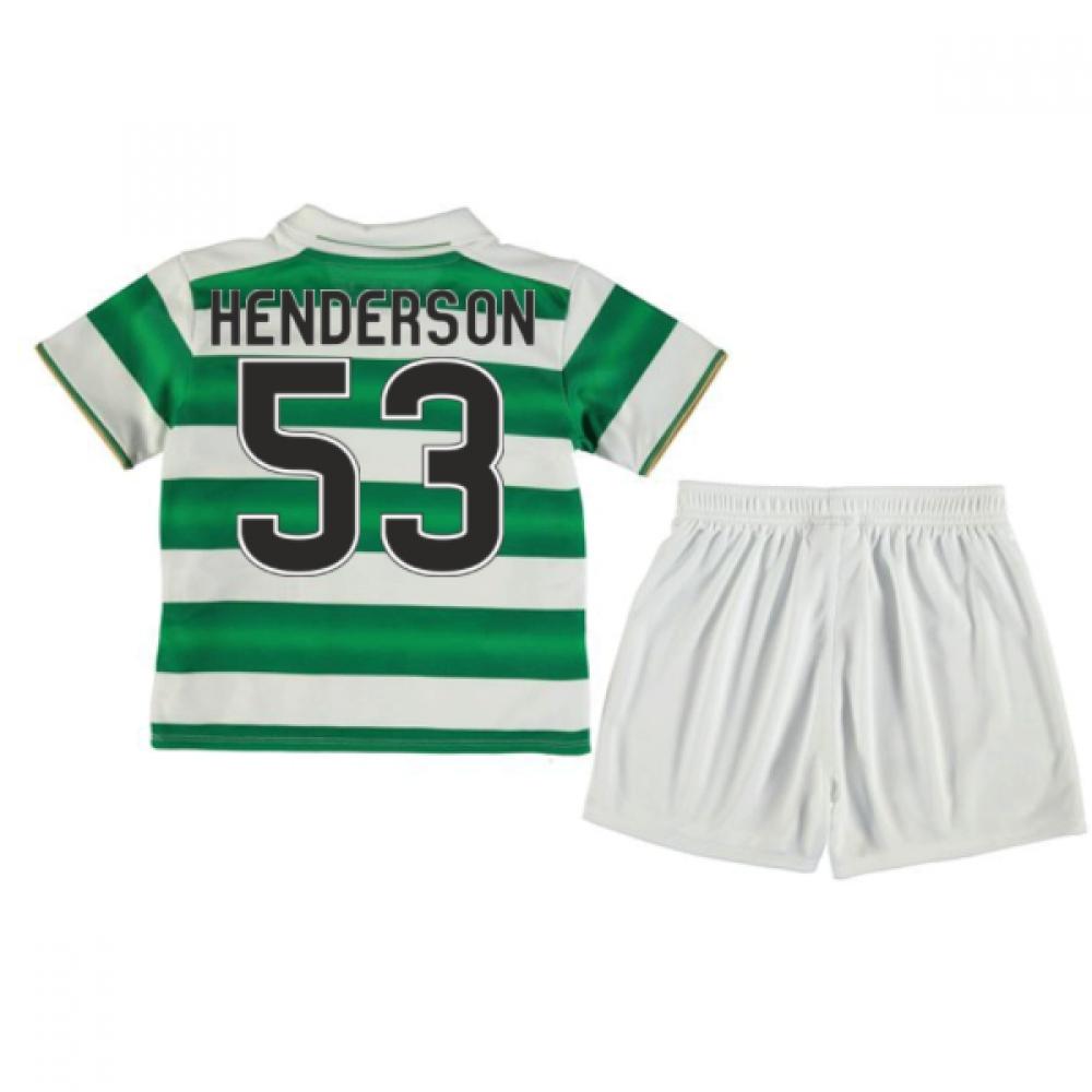 2016-17 Celtic Home Baby Kit (Henderson 53)