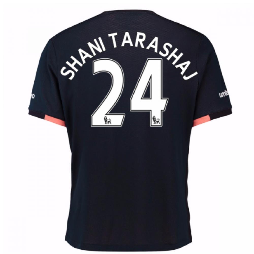 2016-17 Everton Away Shirt (Shani Tarashaj 24)