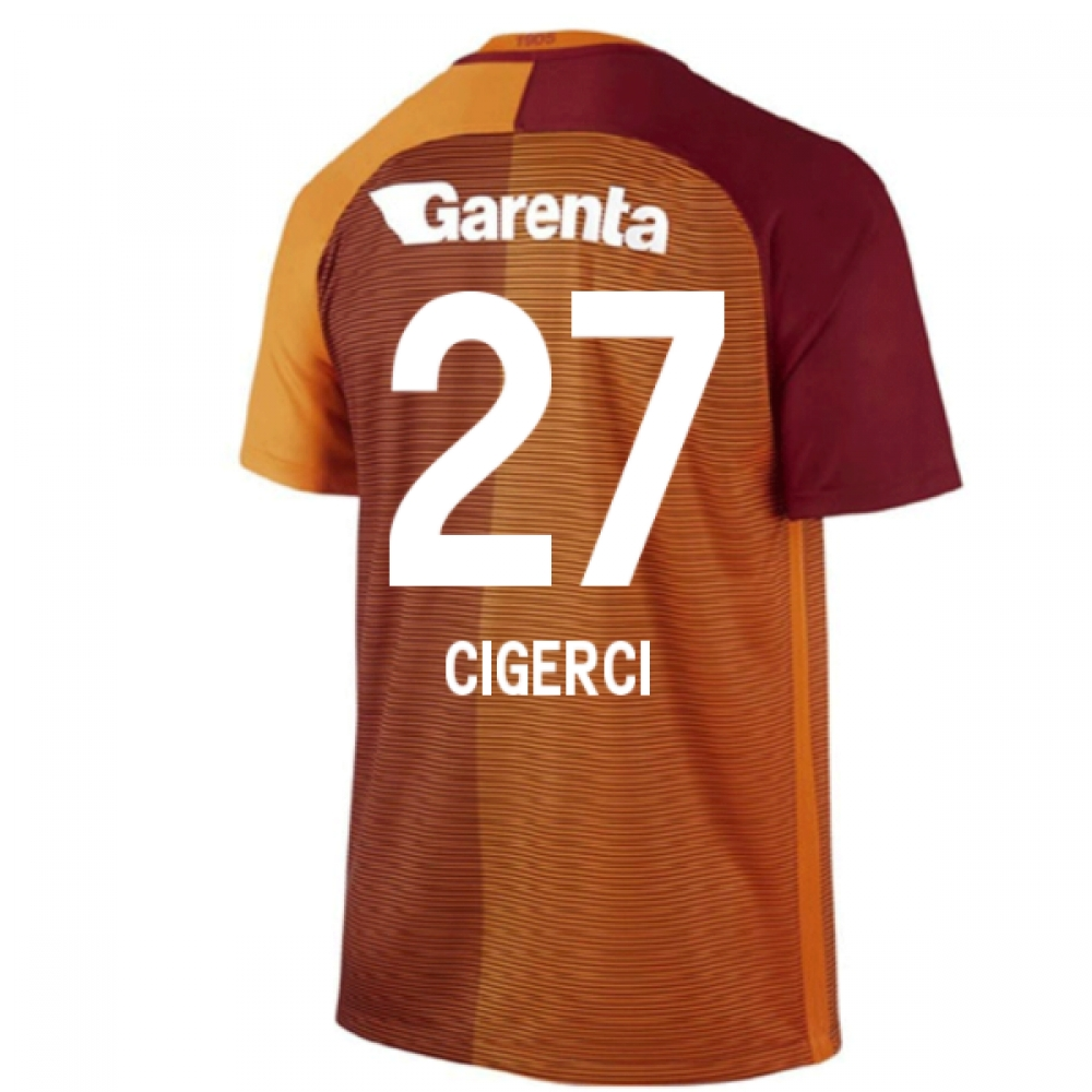 2016-17 Galatasaray Home Shirt (Cigerci 27)