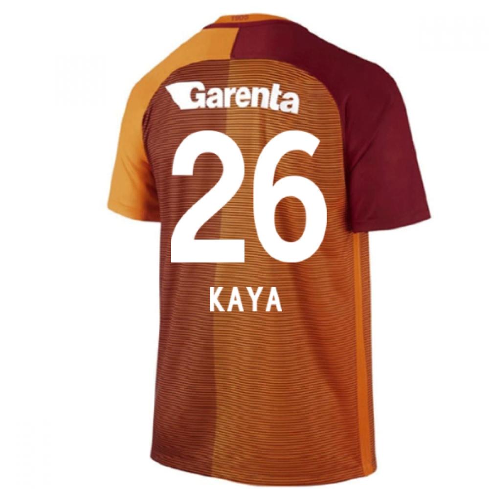 2016-17 Galatasaray Home Shirt (Kaya 26)