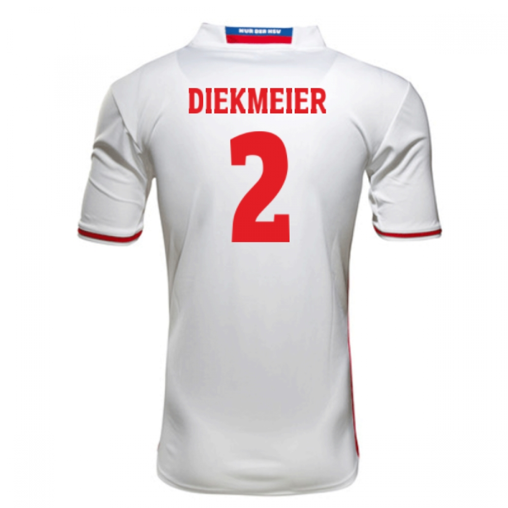 2016-17 Hamburg Sv Home Shirt (Diekmeier 2)