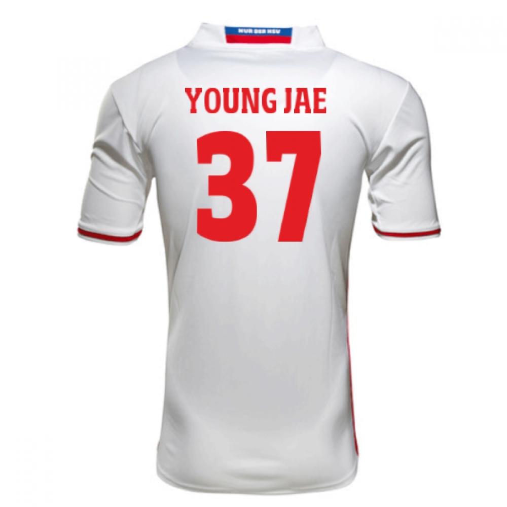 2016-17 Hamburg Sv Home Shirt (Young Jae 37)