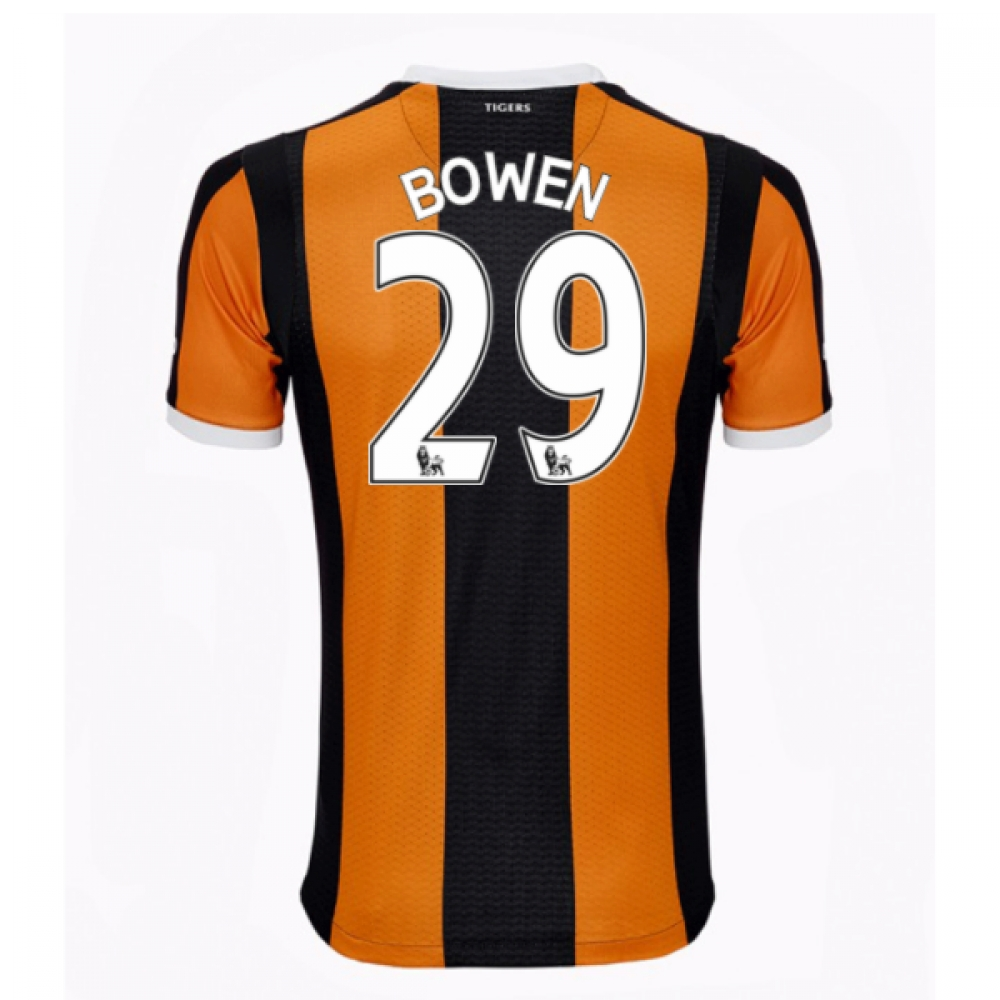 2016-17 Hull City Home Shirt (Bowen 29)