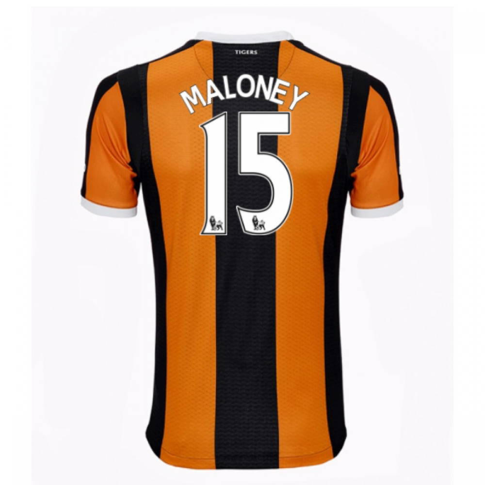 2016-17 Hull City Home Shirt (Maloney 15)