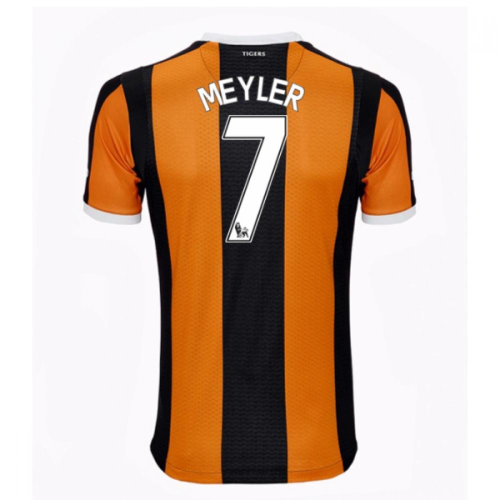 2016-17 Hull City Home Shirt (Meyler 7)